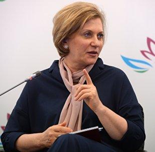 Архивное фото заместителя директора департамента развития и регулирования внешнеэкономической деятельности Министерства экономического развития РФ Анны Поповой