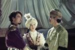 Кадр из художественного фильма Кыз-Жибек. 1969 год. Режиссер Султан-Ахмет Ходжиков.