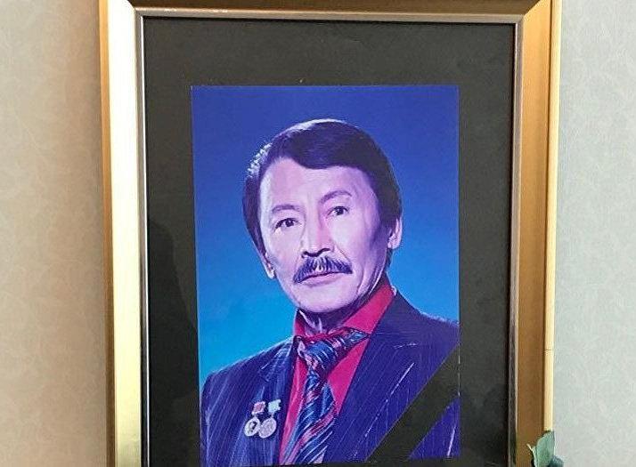 Казахский актер Куман Тастанбеков