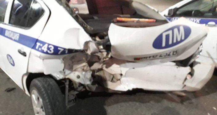 Авария произошла 18 декабря в 5.15 на пересечении улиц Абдрахманова и Боконбаева