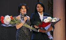 Исполнитель из Кыргызстана Улан Асамудинов стал обладателем гран-при Международного конкурса молодых исполнителей Романсиада в Москве