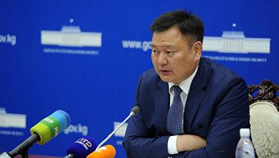 Архивное фото экс-вице-премьер-министра Кыргызской Республики Дуйшенбека Зилалиева