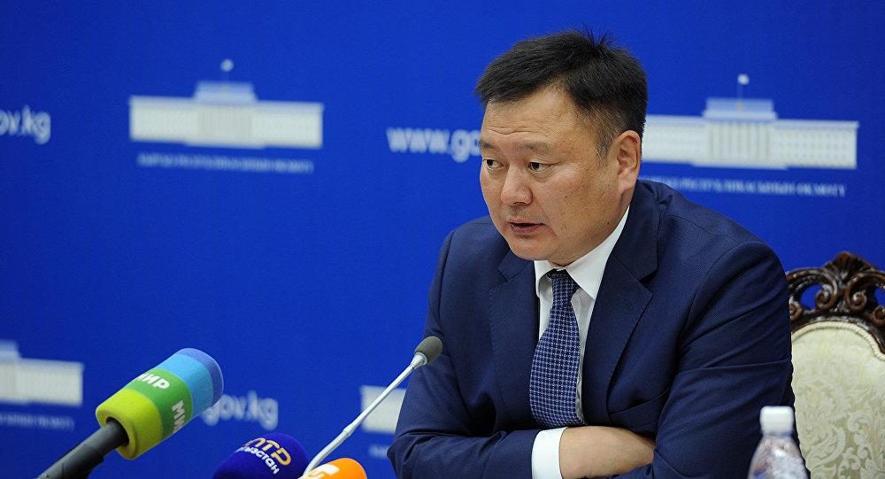 Вице-премьер-министр Кыргызской Республики Дуйшенбек Зилалиев
