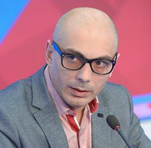 Известный публицист, политолог Армен Гаспарян. Архивное фото