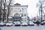 Здание Национального банка Кыргызской республики в Бишкеке. Архивное фото