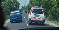 Автомобиль скорой помощи в Бангладеш. Архивное фото
