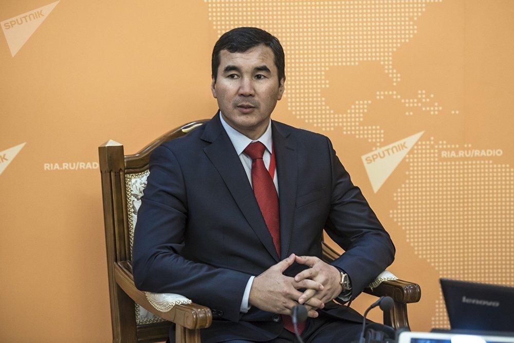 Полпред правительства в области Узарбек Жылкыбаев