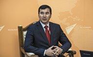 Полномочный представитель правительства в Ошской области Узарбек Жылкыбаев. Архивное фото