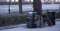 Копия железного трона из сериала Игра престолов в Бишкеке