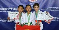 Кыргызстандык жаш спортчулар каратэ-до боюнча Казакстанда өткөн ачык чемпионатта мыкты деп табылды
