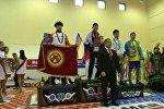 Москва шаарында өткөн мас-рестлинг боюнча дүйнө кубогунун үчүнчү этабында кыргызстандык спортчулар байгелүү кайтышты