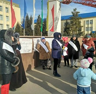 Нарын шаарынын айрым тургундары 2018-жылдын 1-январынан тарта ишке кирчү Мамлекеттик жөлөк пулдар жөнүндө мыйзамга каршы митингге чыгып, ачкачылык жарыялашты