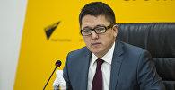 Заместитель председателя Фонда по управлению госимуществом Бактыбек Мураталиев. Архивное фото