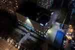 Здание телеканала НТС с высоты. Архивное фото