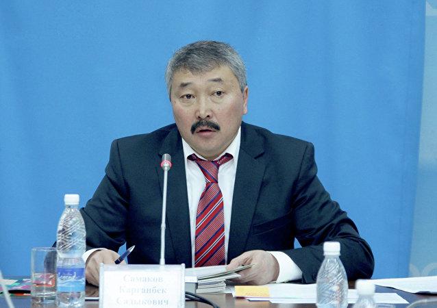 ЖКнын экс-депутаты Карганбек Самаковдун архивдик сүрөтү