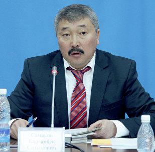 Осужденный экс-депутат Жогорку Кенеша Карганбек Самаков. Архивное фото