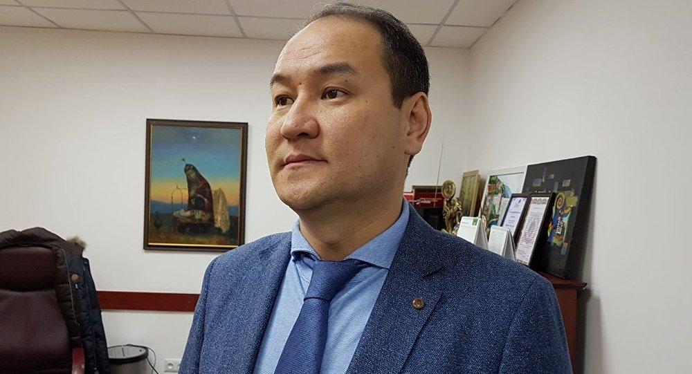 Назначенный генеральным директором КТРК Жайнак Усен уулу. Архивное фото