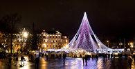 Рождественская елка в Вильнюсе