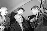 Токтогул Сатылгановдун небереси Молдожан менен Абдылас Малдыбаев