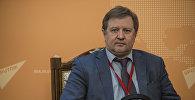 Архивное фото директора Института ЕАЭС Владимира Лепехина