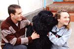 Путин подарил мне собаку — продолжение истории о кыргызстанке и ее питомце
