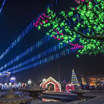 Приобретены семь елок, две декоративные конструкции в виде домиков, 12 светящихся торшеров, светодиодные конструкции в виде цифр 2018 и светодиодный фонтан