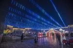 Новогоднее оформление Бишкека