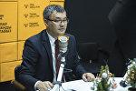 Президенттик аппараттын стратегиялык өнүктүрүү, экономика жана финансы саясаты бөлүмүнүн башчысы Данияр Иманалиев