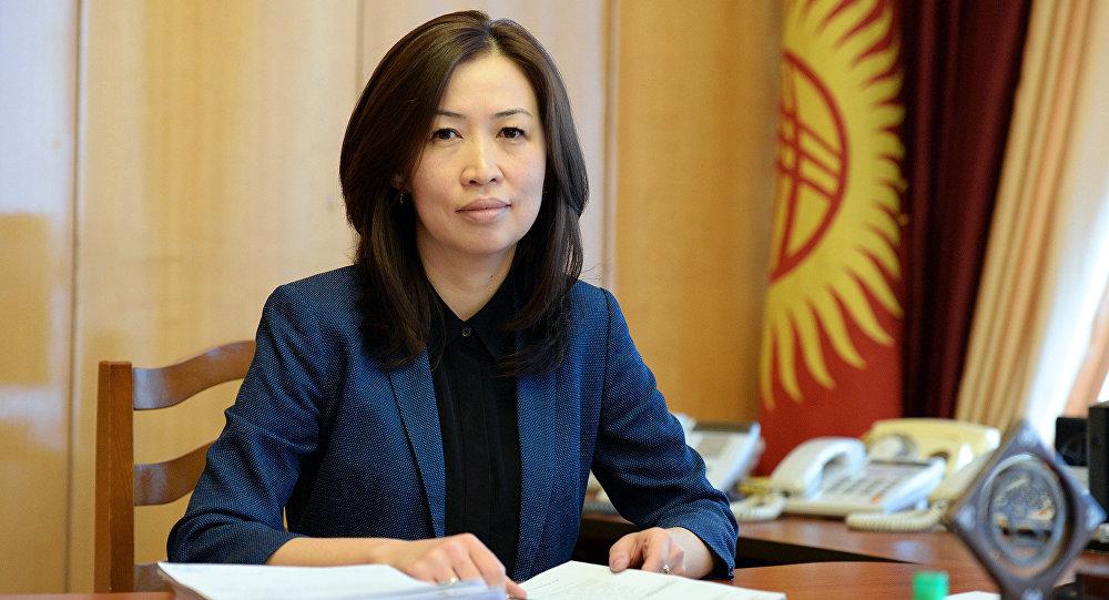 Заведующая отделом внешней политики аппарата президента Кыргызстана Айзада Субакожоева