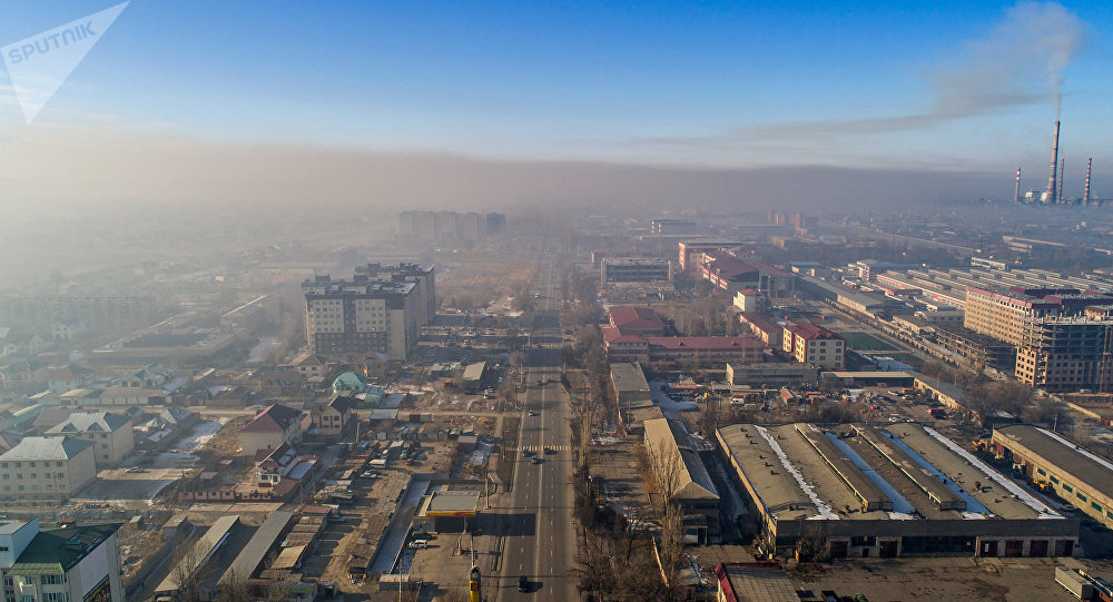 Улица Горького (Анкара) со стороны микрорайона Тунгуч в Бишкеке. Архивное фото