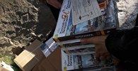 Ысык-Көл облусунун Түп районунун орус тилдүү мектептерине Россия Федерациясынын атынан тогуз тонна, тагыраагы,  21 миң даана китеп жеткирилди