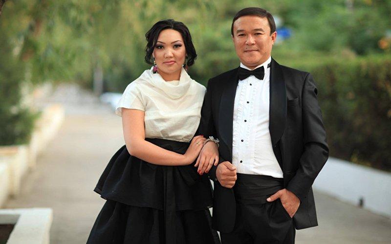 Жумабек Салымбеков и Нурзат Осмонова
