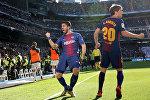 Футбол боюнча Испания чемпионатынын 17-турунда Барселона клубу мадриддик Реал командасын жеңип алды