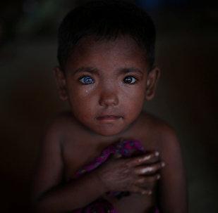 Лагерь беженцев-рохинджа в Бангладеш