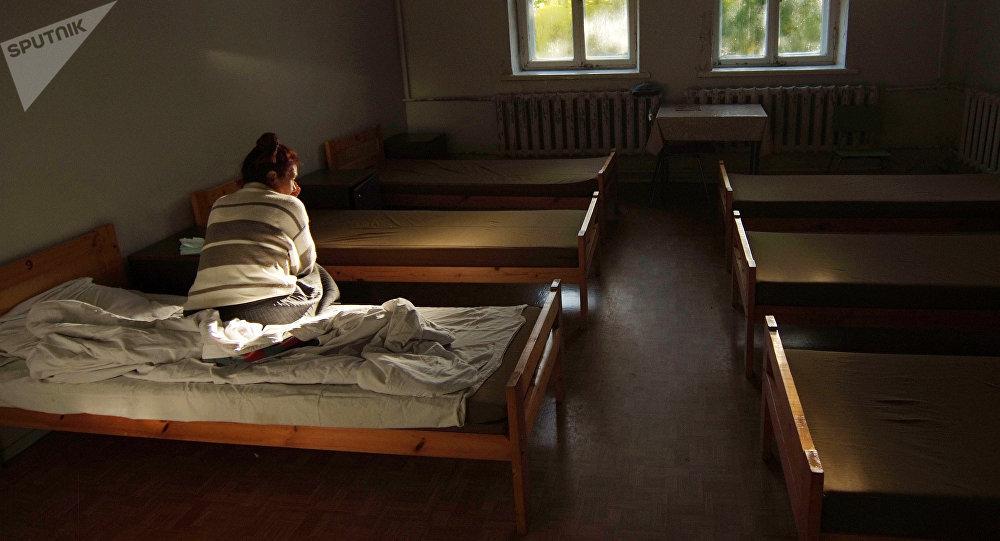 Одна из палат в больнице. Архивное фото