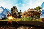 Креативно и с анимацией — невероятно красивый ролик про Игры кочевников