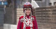 Переселенная из малого Памира в Кыргызстан Ширинбу Абдулбаит кызы