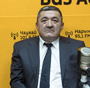 Бишкек шаарынын мурунку мэри Албек Ибраимов. Архив