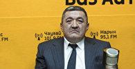 Мэр Бишкека Албек Ибраимов. Архивное фото
