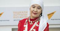 Памирская кыргызка Ширинбубу Памирли (Абдувахит кызы), проживающая сейчас в Нарынской области. Архивное фото