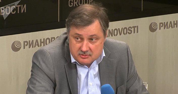 Российский политолог Дмитрий Евстафьев