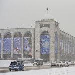 Многие горожане жаловались на проблемы с транспортом из-за снегопада
