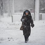 За ночь 27 декабря на территории Чуйской области выпало больше 20 сантиметров снега