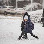 В этом году погода не баловала нас обилием снежных осадков, так что это явление можно назвать настоящим событием