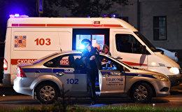 Автомобили полиции и скорой медицинской помощи РФ. Архивное фото