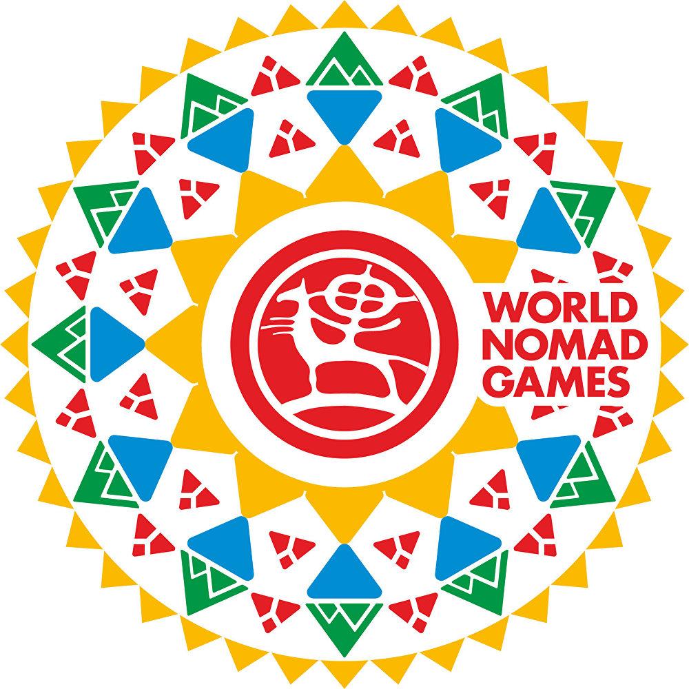 Логотип III Всемирных игр кочевников