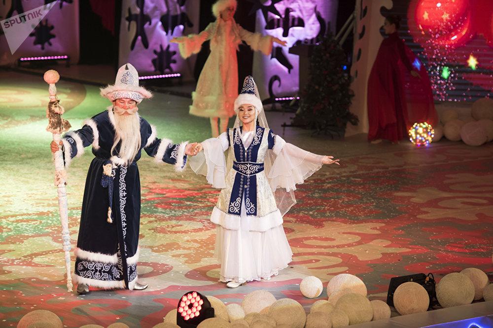 Какая же новогодняя сказка без Аяз Ата?