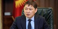 Кыргызстандын мурдагы премьер-министри Сапар Исаков. Архив