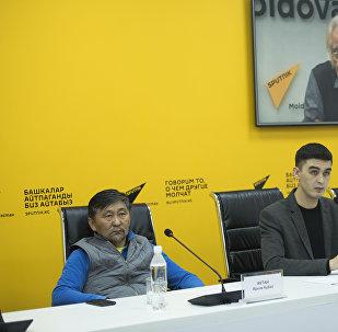 Кыргызстанский кинорежиссер Актан Арым Кубат