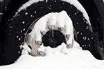 Фура в снегу. Архивное фото